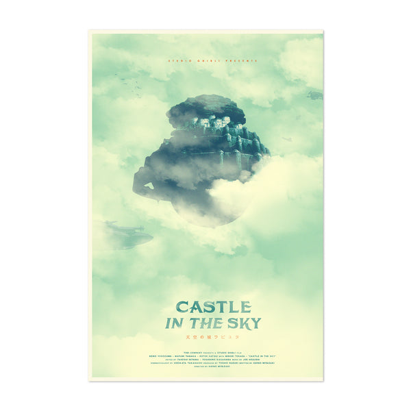 Castle in the Sky Movie Film Art Print
