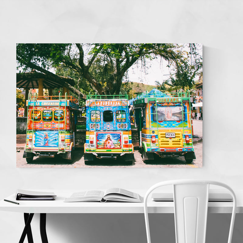 Salento Colombia Photo Art Print