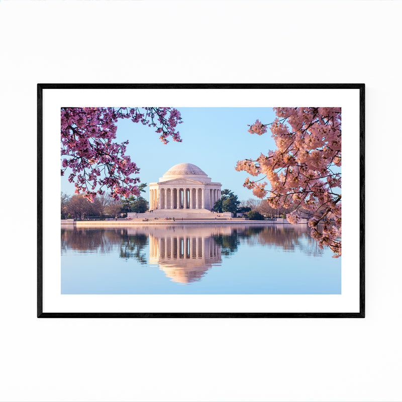 Jefferson Memorial Washington Framed Art Print