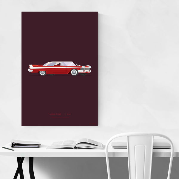 Christine Movie TV Illustration Art Print