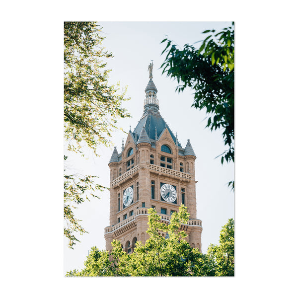 Salt Lake City Utah City Hall Art Print
