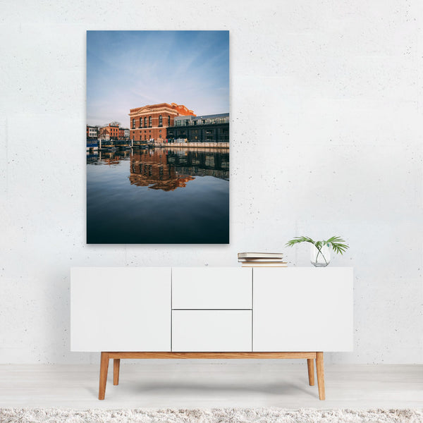 Baltimore Maryland Urban Pier Art Print