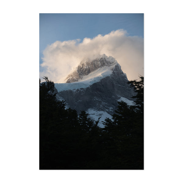 Torres del Paine Patagonia Nature Art Print