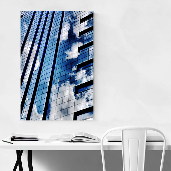 Philadelphia Urban Abstract Art Print