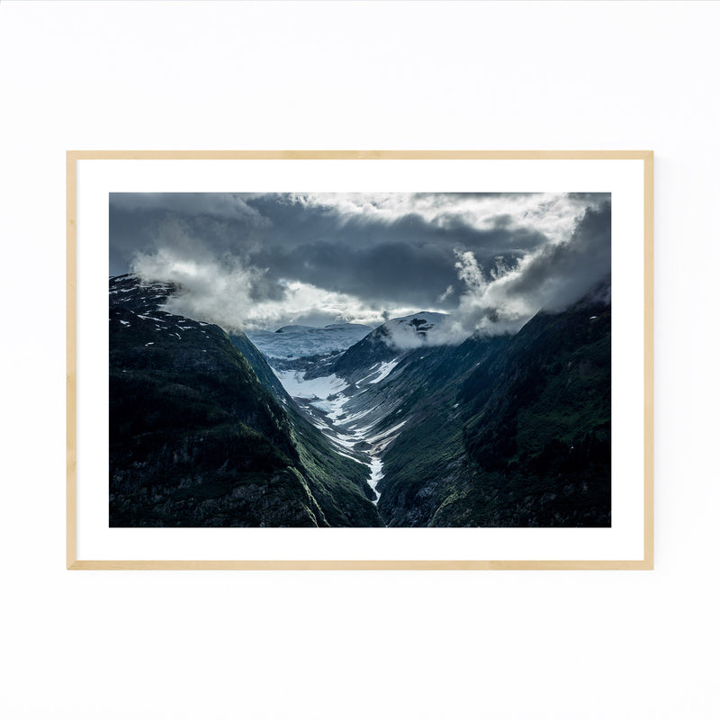 Mountains British Columbia Framed Art Print