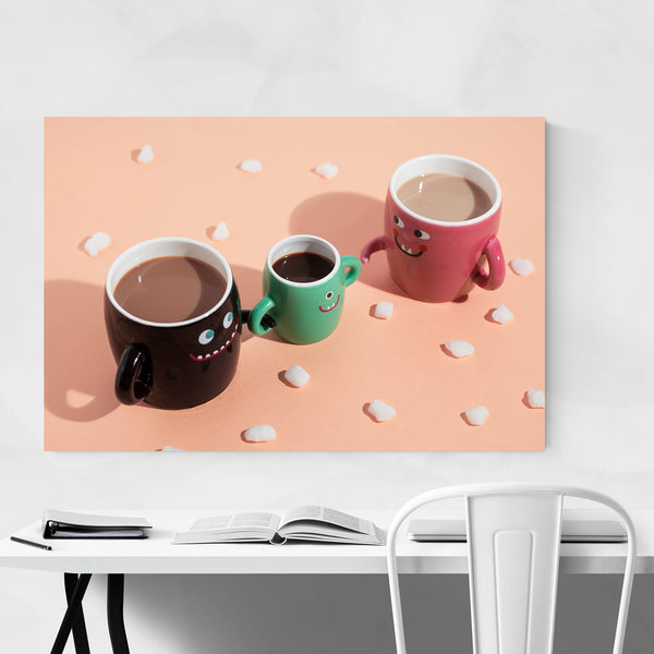 Coffee Funny Kitchen Foodie Gift Art Print
