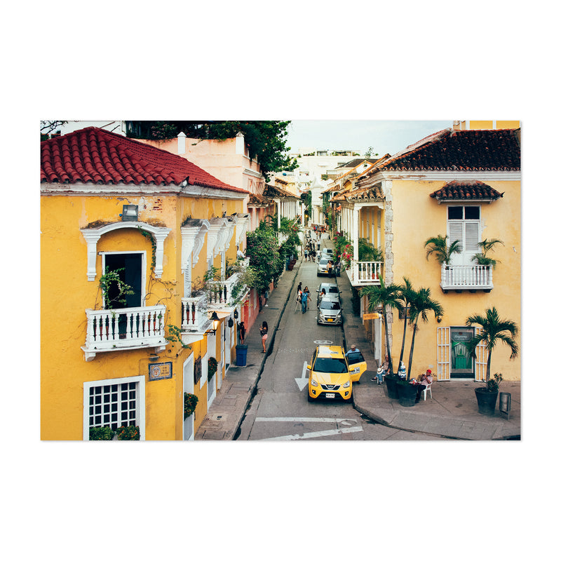 Cartagena Colombia Architecture Photo Art Print