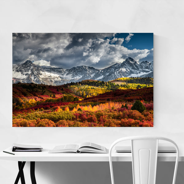 Sneffels Mountains Colorado Art Print