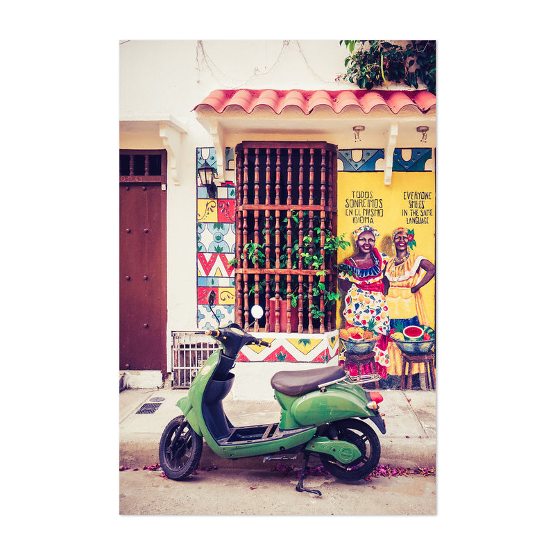 Cartagena Colombia Photo Art Print