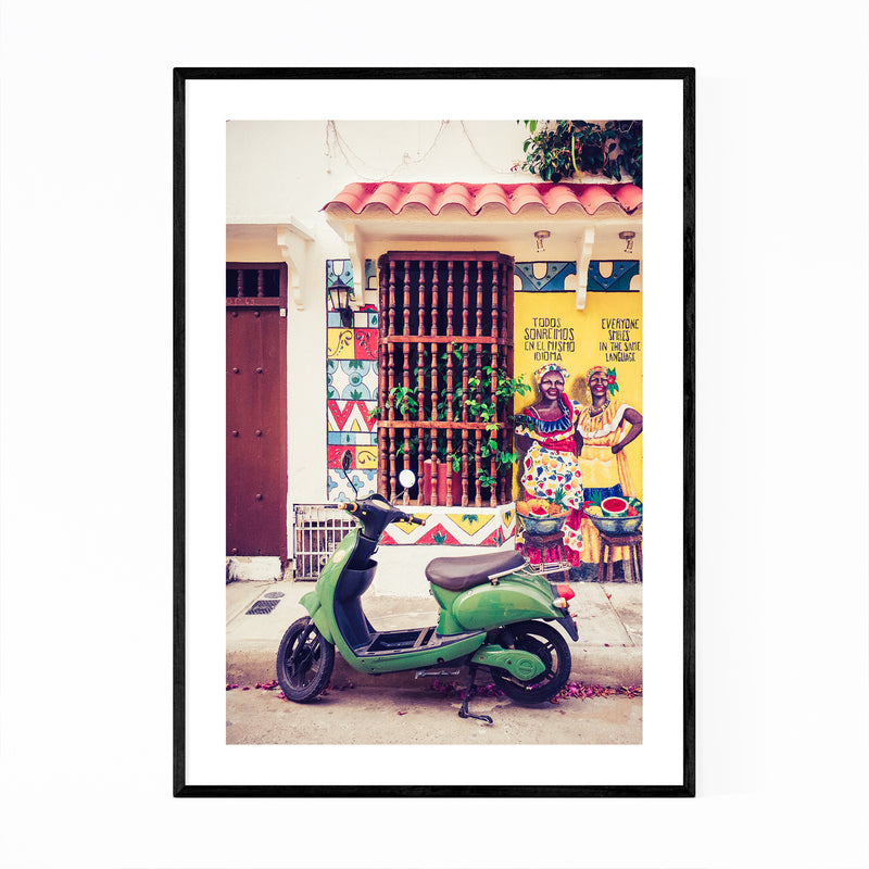 Cartagena Colombia Photo Framed Art Print