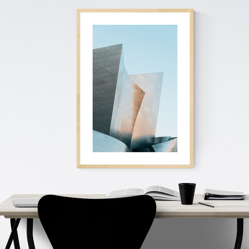 Architecture Los Angeles Photo Framed Art Print