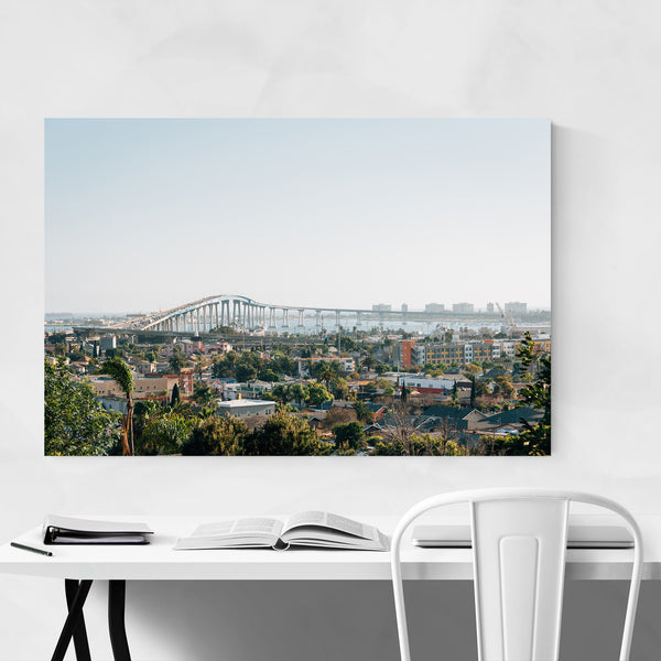 Coronado Bridge San Diego Photo Art Print