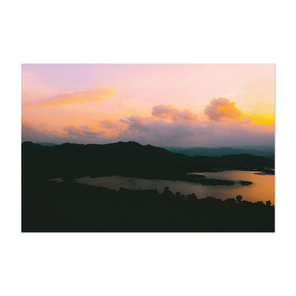 Udaipur India Mountains Photo Art Print