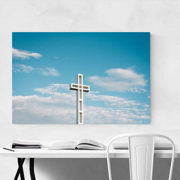 Cross Mount Soledad La Jolla Art Print
