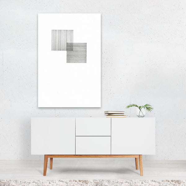 Abstract Minimal Patterns Line Drawing Art Print
