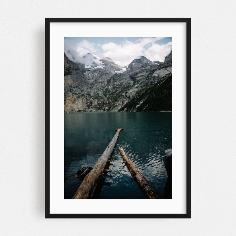 Kandersteg Switzerland Nature Photo Framed Art Print