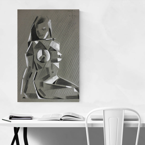 Cubism Nude Figurative Abstract Art Print