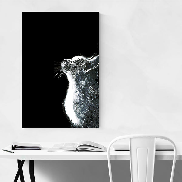Cute Kitten Cat Pet Animal Art Print