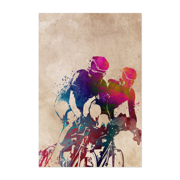 Cycling Biker Gift Sports Art Print