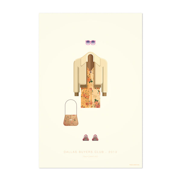 Dallas Buyers Club Illustration Art Print