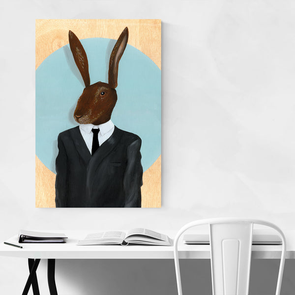 Inland Empire Movie Rabbit Art Print