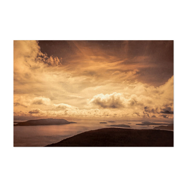 Orcas Island Washington Nature Photo Art Print