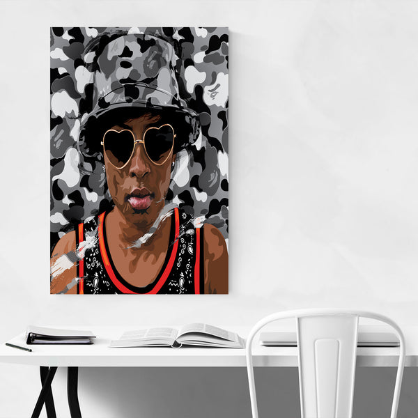 Dej Loaf Portrait Music Hip Hop Art Print