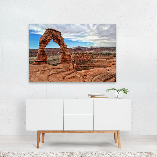 Moab Utah Desert Nature Photo Art Print