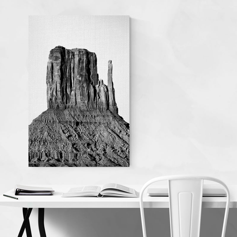 Monument Valley Utah Desert Art Print Poster Framed Wall Art Noir Gallery
