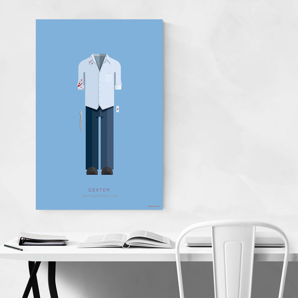 Dexter Movie TV Illustration Art Print