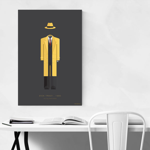 Dick Tracy Movie TV Illustration Art Print
