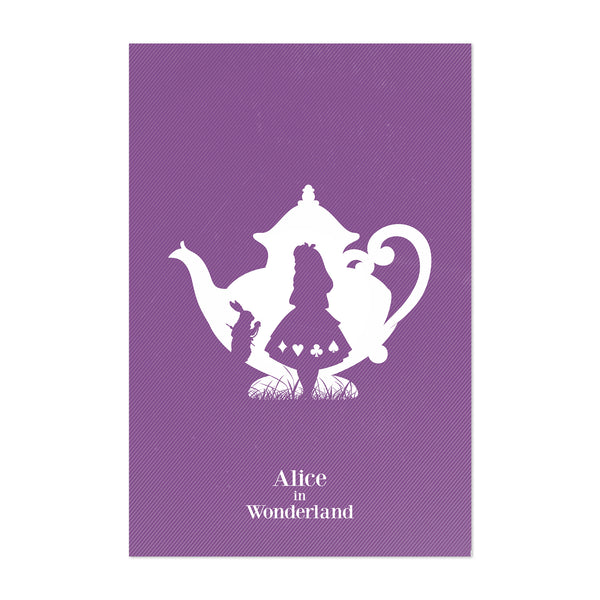 Disney Alice in Wonderland Movie Poster Art Print