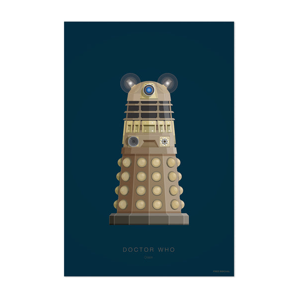 Doctor Who Illustration Art Print