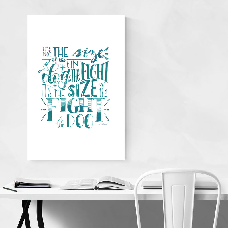 Inspirational Quote Typography Art Print