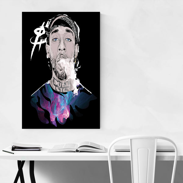 Ty Dolla Sign Portrait Rap Music Art Print