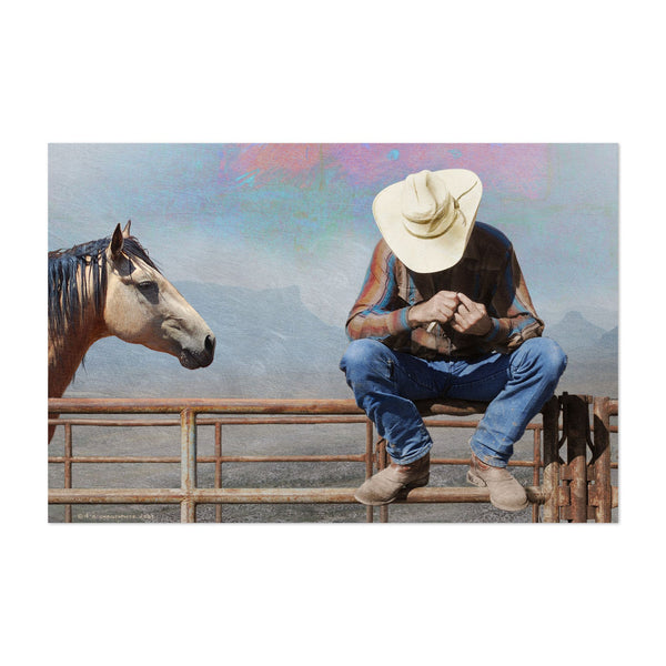 Colorado Cowboy Horse Animal Photo Art Print