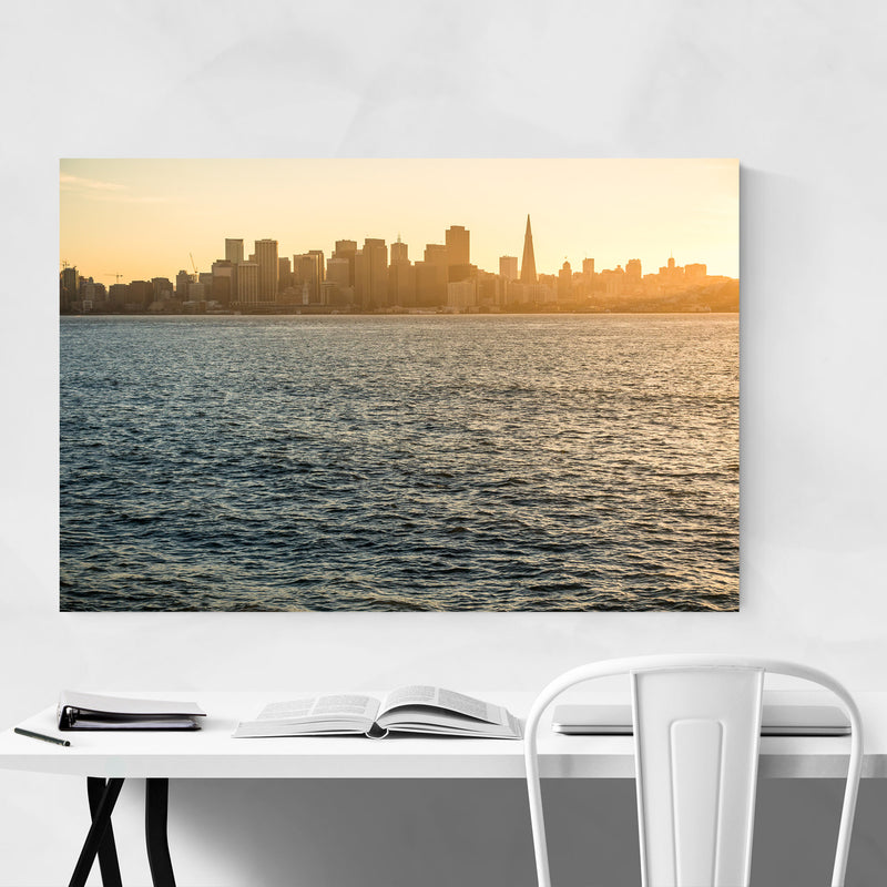 San Francisco California Photo Canvas Art Print