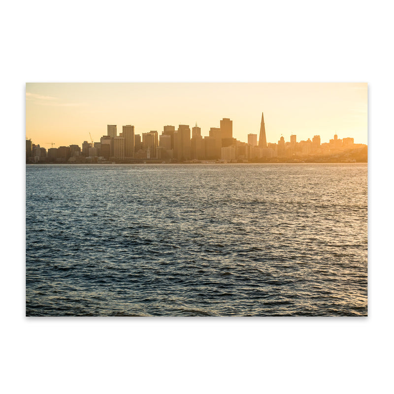 San Francisco California Photo Metal Art Print