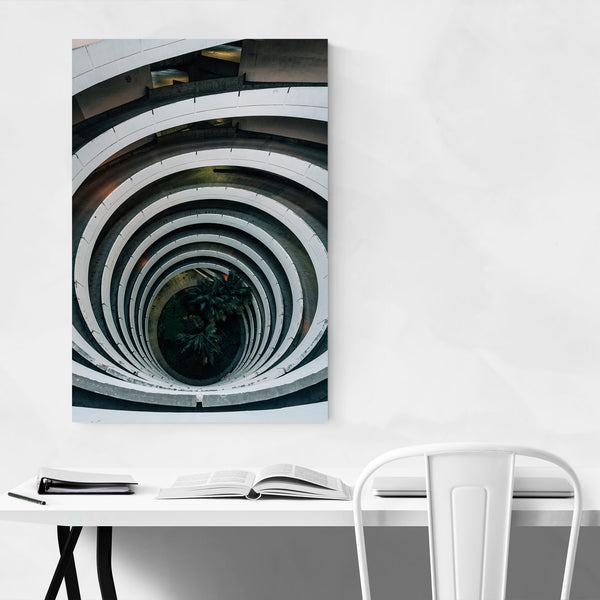 Spiral Urban Abstract San Diego Art Print