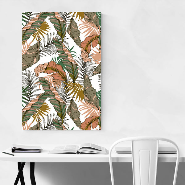 Floral Botanical Abstract Pattern Art Print