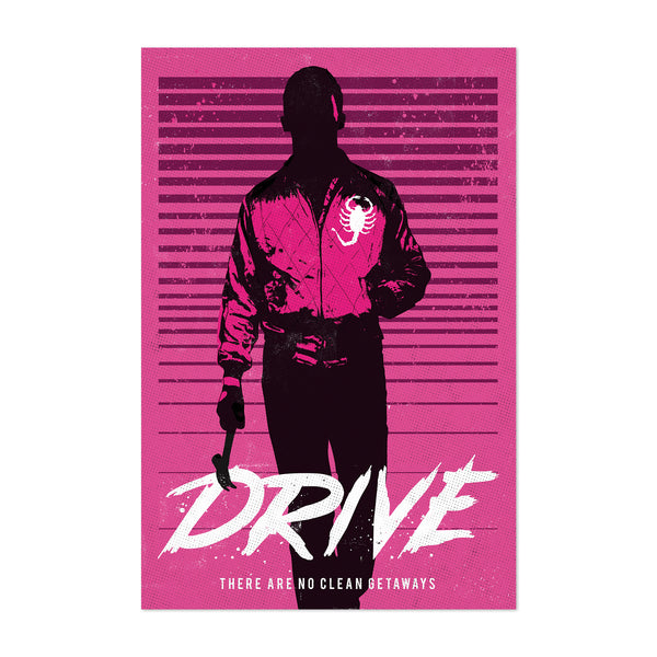 Drive movie poster Art Print