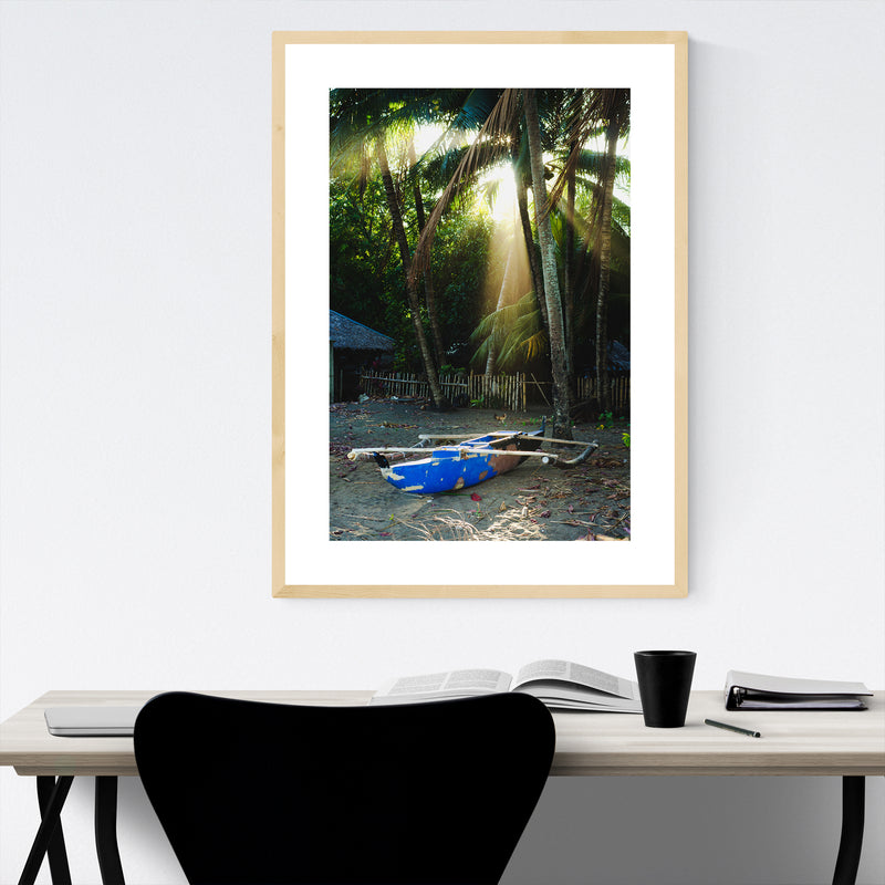 Dumaguete Philippines Photography Framed Art Print