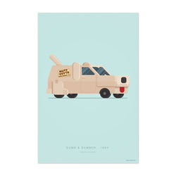 Dumb & Dumber Illustration Art Print