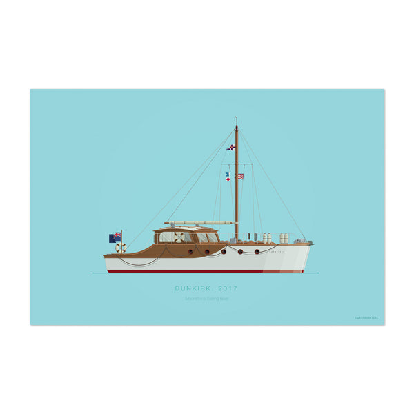 Dunkirk Illustration Art Print