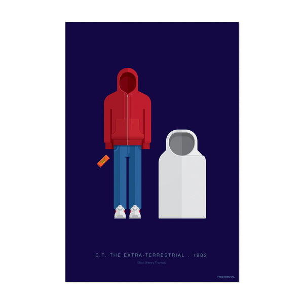 E. T. The Extra-Terrestrial Art Print