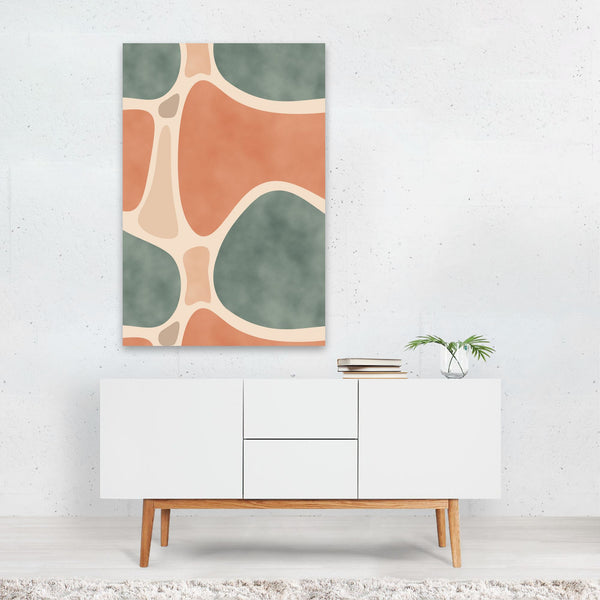Abstract Pattern Painting Art Print