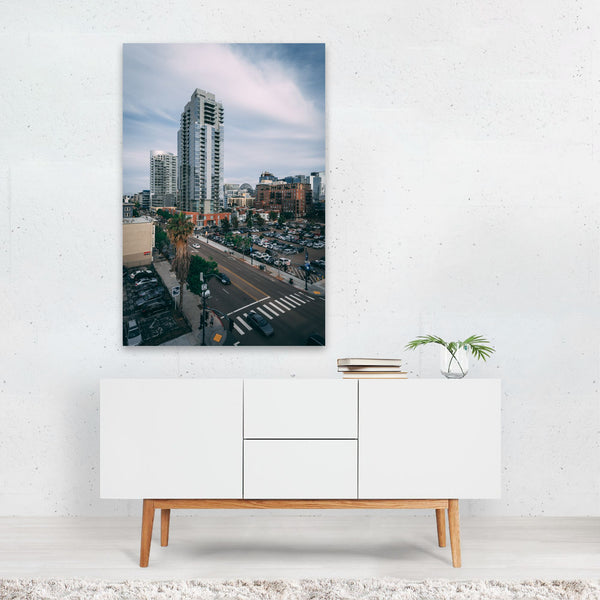 San Diego California Urban Photo Art Print