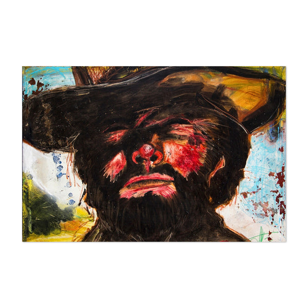 Clint Eastwood Movie Portrait Art Print