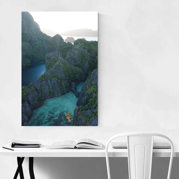 El Nido Philippines Coastal Photo Art Print