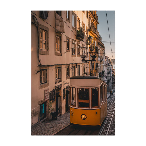 Lisbon Portugal Urban Photo Art Print